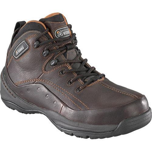 Men's Rockport Works RK6200 Brown Leather