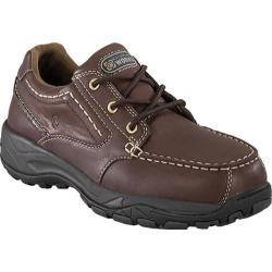 Men's Rockport Works RK6746 Brown Full Grain Leather