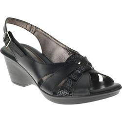 Women's Spring Step Adorable Black Leather