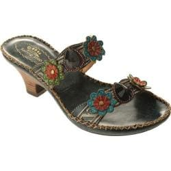 Women's Spring Step Ambrosia Blue Leather