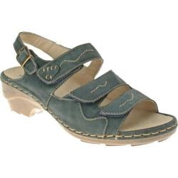 Women's Spring Step Benicia Blue Leather