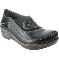Women's Spring Step Burbank Black Leather
