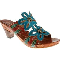 Women's Spring Step Carlina Turquoise Leather