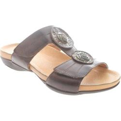 Women's Spring Step Carotta Brown Leather