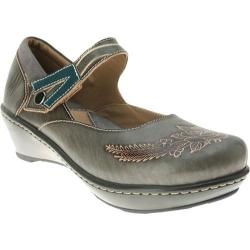 Women's Spring Step Demitria Gray Leather