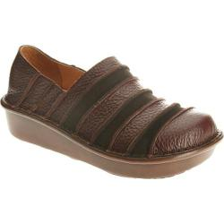 Women's Spring Step Firefly Brown Combo Leather