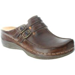 Women's Spring Step Happy Dark Brown Leather