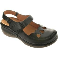 Women's Spring Step Hope Black Leather