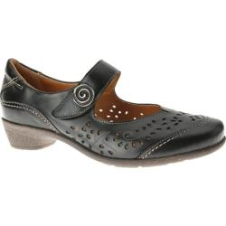 Women's Spring Step Music Black Leather