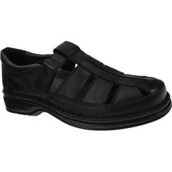 Men's Spring Step Rylan Black Leather