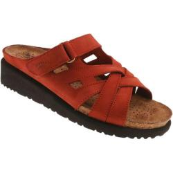 Women's Spring Step Sabra Red Nubuck