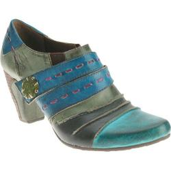 Women's Spring Step Wondrous Turquoise Leather