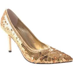 Women's Stefani Nelly Gold Sequin