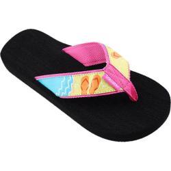 Women's Tidewater Sandals Beach Sandals Purple/Orange/Blue
