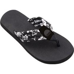 Women's Tidewater Sandals Black Patent Black/White