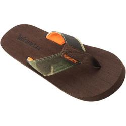 Children's Tidewater Sandals Camo Brown/Green/Orange