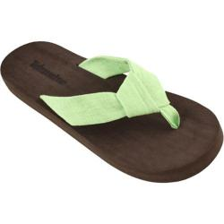 Women's Tidewater Sandals Green Knot Brown/Green