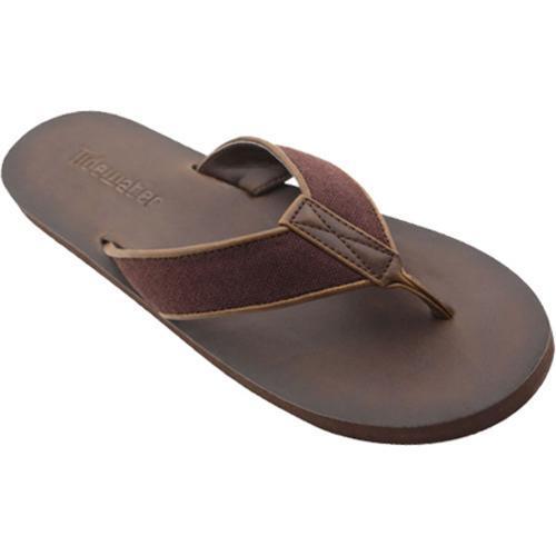 Men's Tidewater Sandals Linen Brown