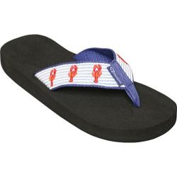 Women's Tidewater Sandals Lobster Blue/White/Red