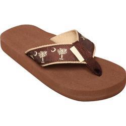 Tidewater Sandals Palmetto Chocolate/Tan