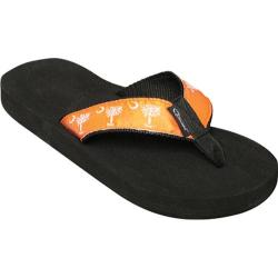 Tidewater Sandals Palmetto Orange/White