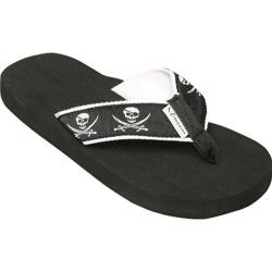 Women's Tidewater Sandals Pirates Black/White