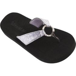 Girls' Tidewater Sandals Sparkling Loop Silver