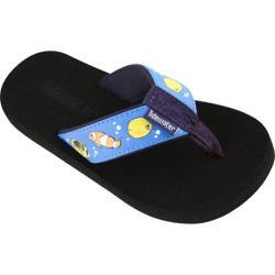 Children's Tidewater Sandals Tropical Fish Blue