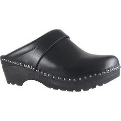 Women's Troentorp Bastad Clogs 4 Star Traditional Black