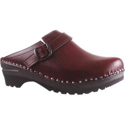Men's Troentorp Bastad Clogs Donatello Black Cherry