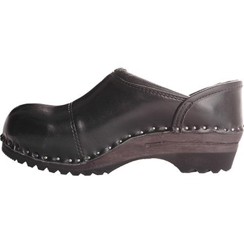 Men's Troentorp Bastad Clogs Picasso Black