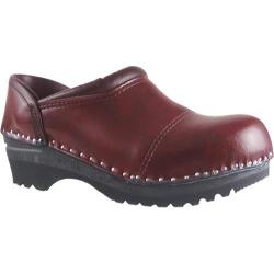 Men's Troentorp Bastad Clogs Picasso Black Cherry
