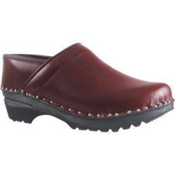 Women's Troentorp Bastad Clogs Van Gogh Black Cherry