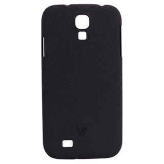 V7 Metro Anti-Slip Case for Galaxy S4 Sand Finish Semi-Flexible Phone
