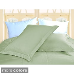 Cottonloft Colors 2-piece Sham Set