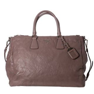 Prada 'Nappa' Antique Leather Satchel