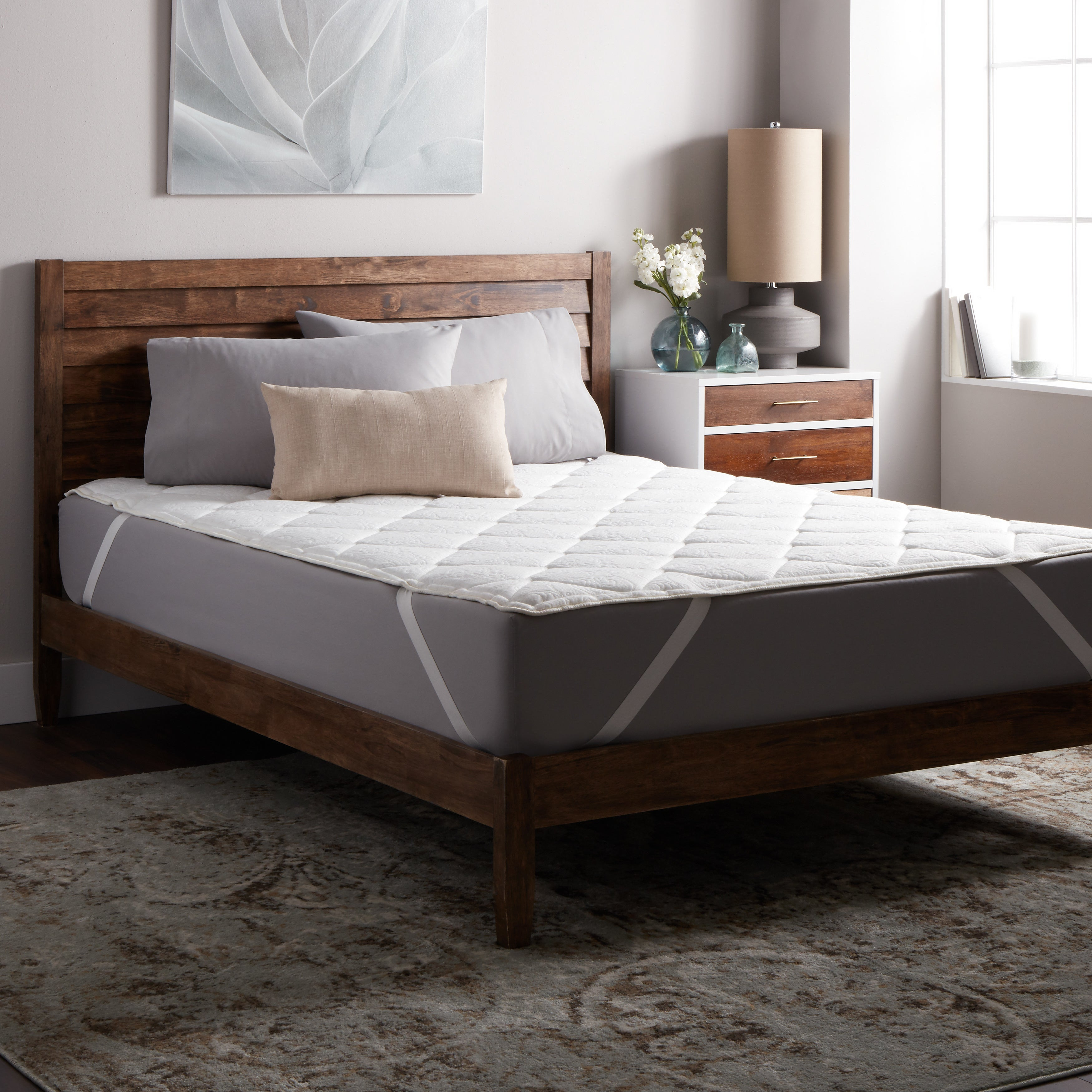 Select Luxury Dream Quilted Foam and Fiber Mattress Topper at Sears.com
