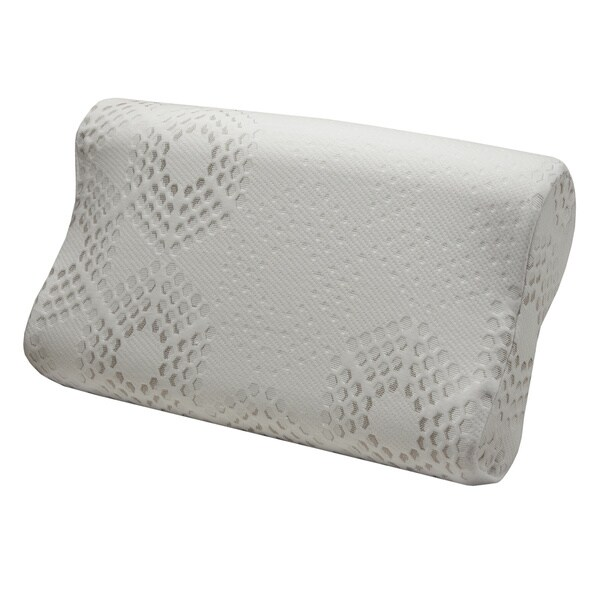 Comfort Dreams Lifestyle Collection Support Contour Foam Pillow