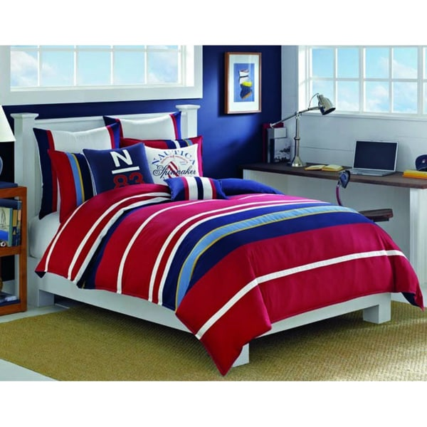 Nautica Brant Point Cotton 3-piece Comforter Set