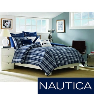 Nautica Grand Isle Point Cotton 3-piece Comforter Set