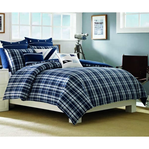 Nautica Grand Isle Point Cotton 3-piece Comforter Set