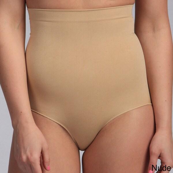 Fullness Women's 'Valencia' Seamless Highwaist Bikini Shapewear