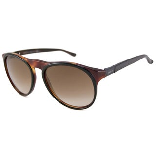 Gucci Men's GG1014 Black-Tortoise Aviator Sunglasses