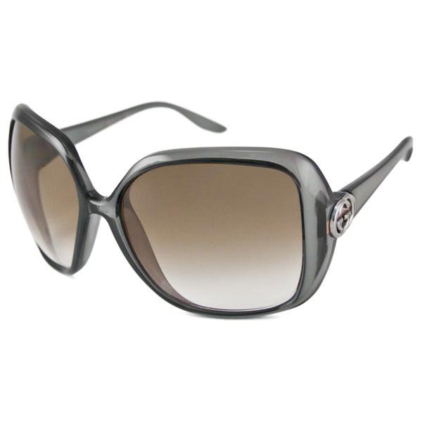 Gucci Women's GG3167 Rectangular Sunglasses