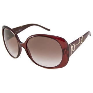 Italian Gucci Women's GG3536 Rectangular Sunglasses