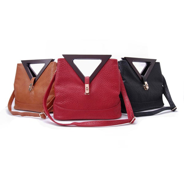 DimeCity Triangle Handle Bag