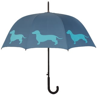 Blue Dachshund Umbrella