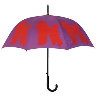 Poodle Silhouette Full-size Umbrella