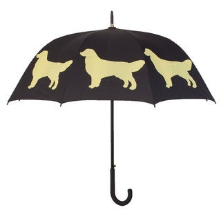 Black Golden Retriever Umbrella
