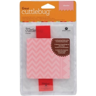 Cuttlebug A2 Embossing Folder/Border Set-Charles